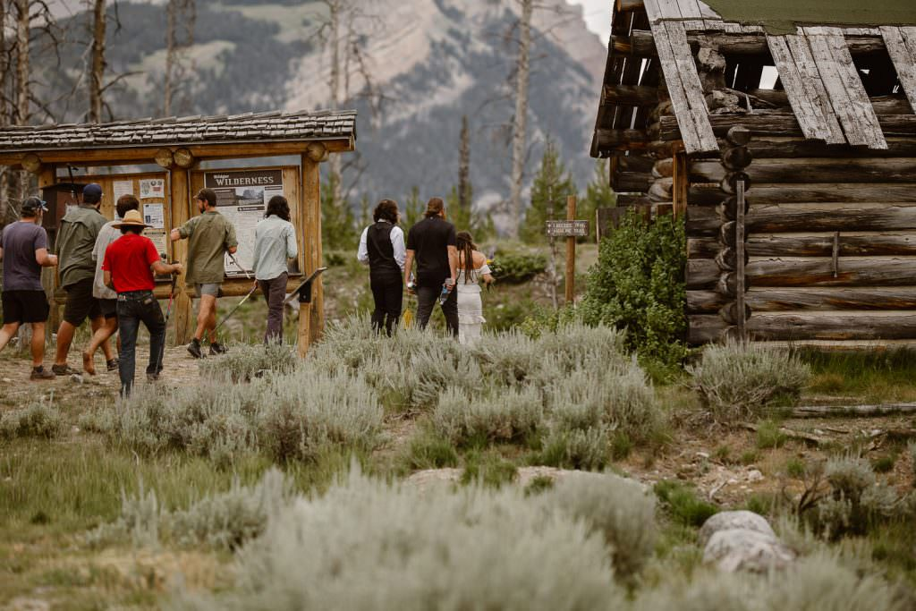 Wyoming Adventure Elopement Photography