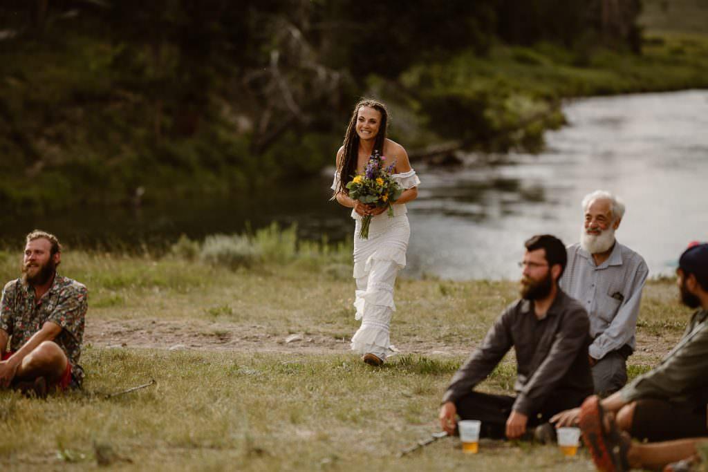 Wyoming Adventure Elopement Photographer