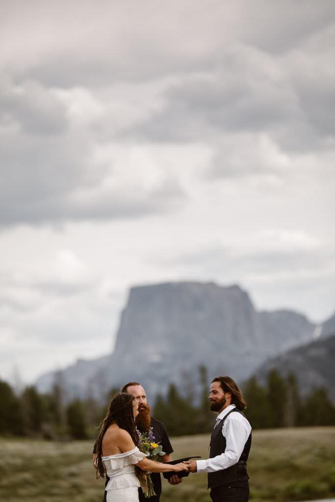 Destination Wyoming Adventure Elopement Photographer