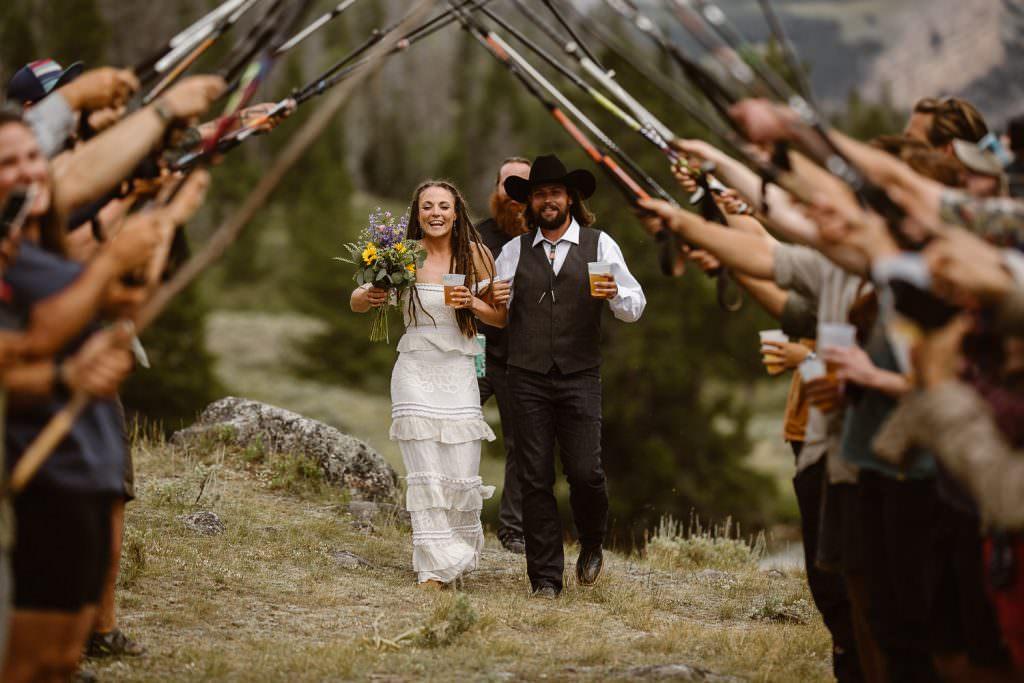 Wyoming Adventure Elopement Photogarpher