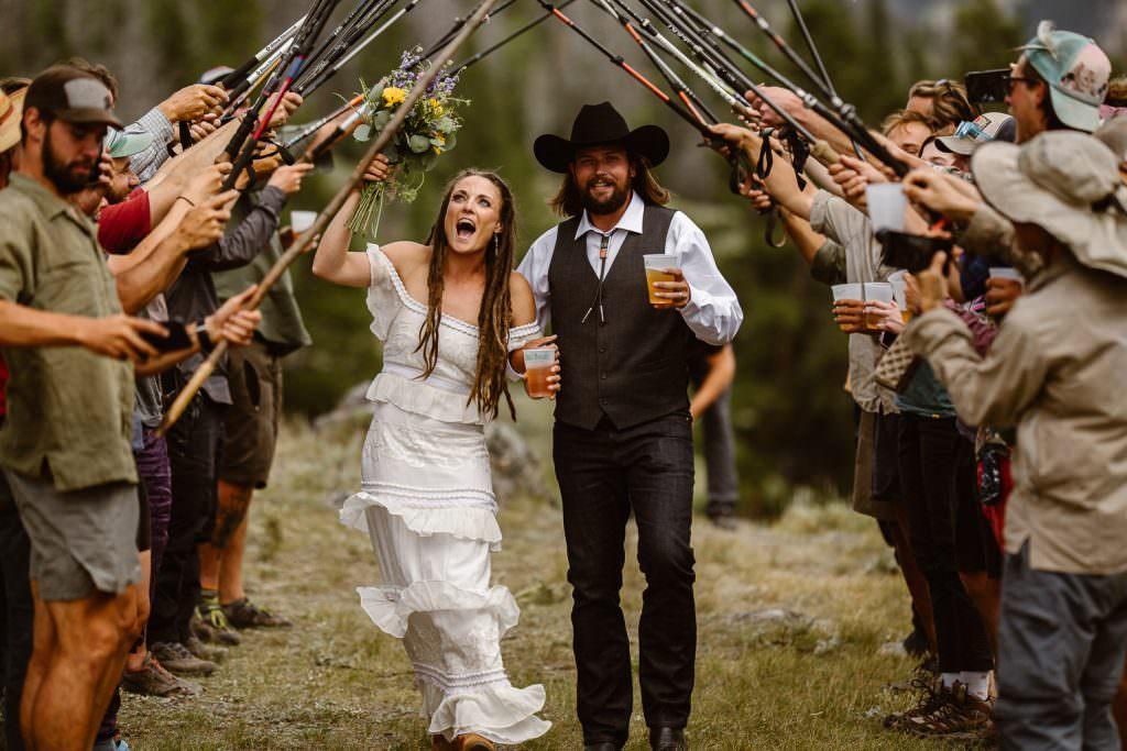 Destination Adventure Wedding Photographer | Wyoming Wind River Range Adventure Elopement | Jamie + Nick