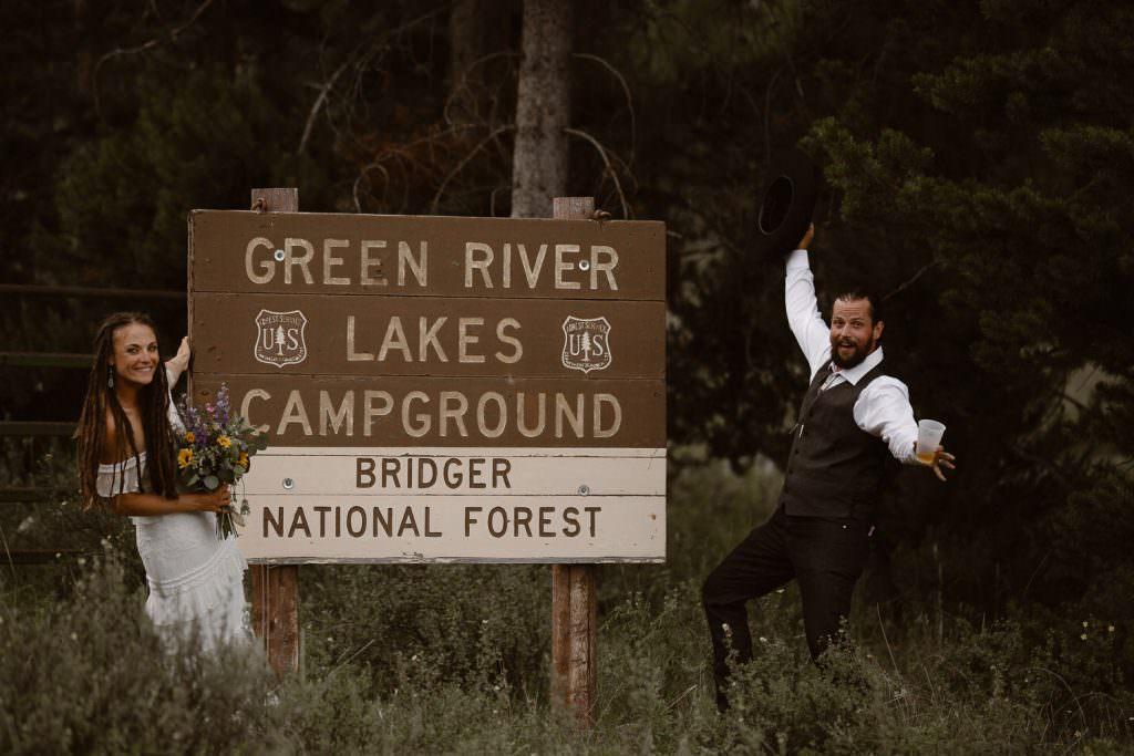 Wyoming Wind River Range Adventure Elopement