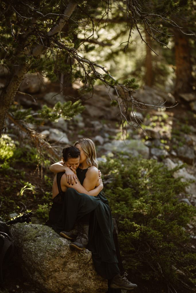 Colorado Mountain Adventure Engagement Photographer