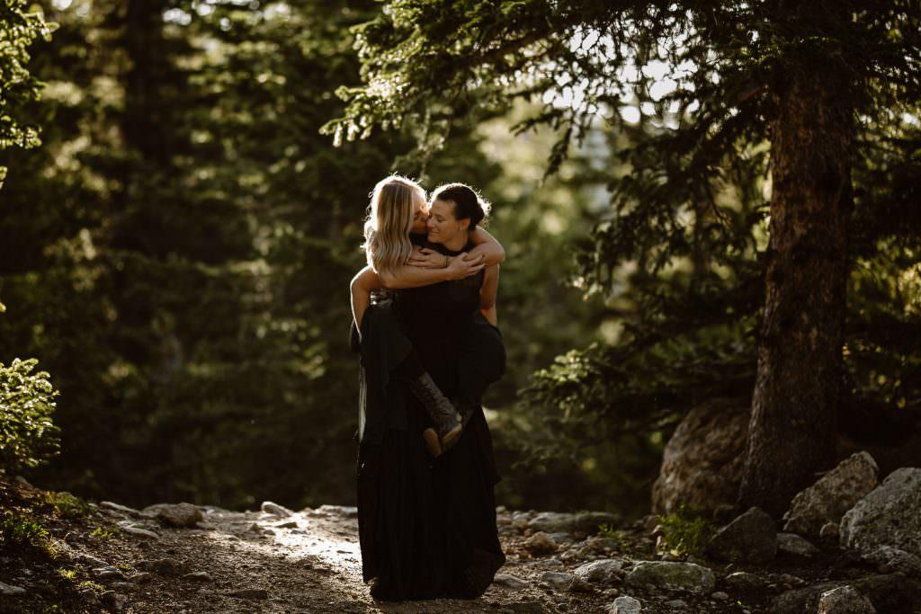 Lesbian adventure in Colorado