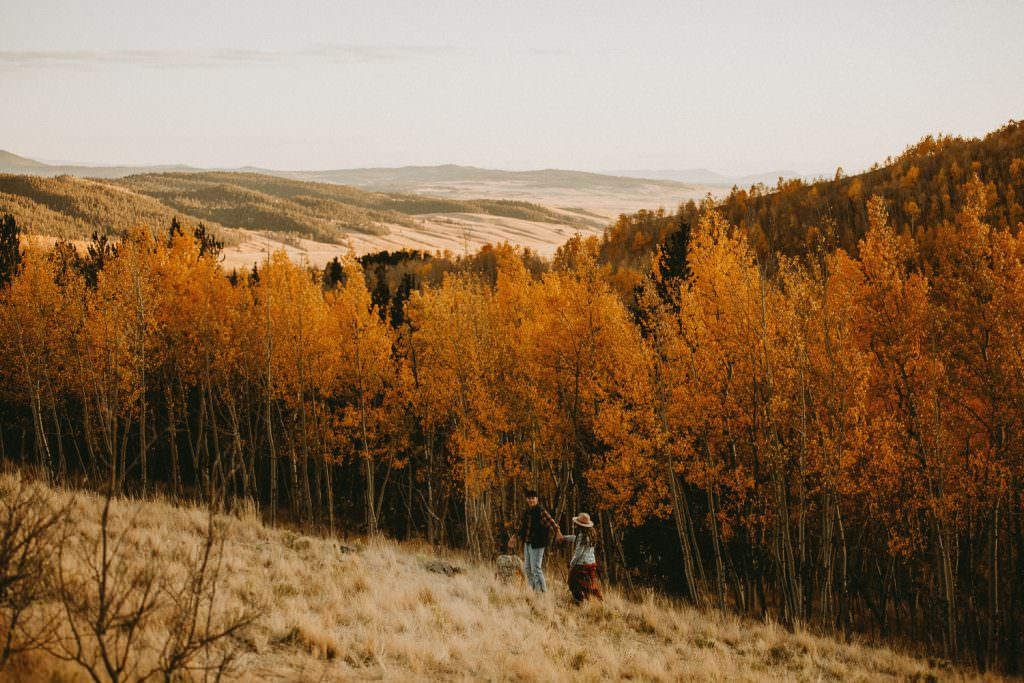 Best of Fall in Colorado, Adventure Engagement by Justyna E Butler Photography