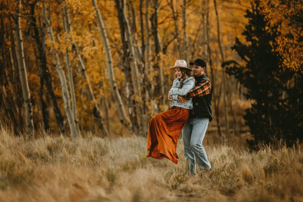 Forest of Aspens among lovers, Kenosha Pass Colorado