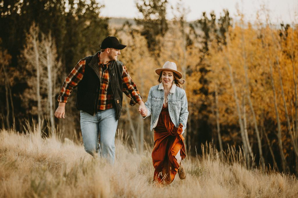 fall in Colorado Engagement