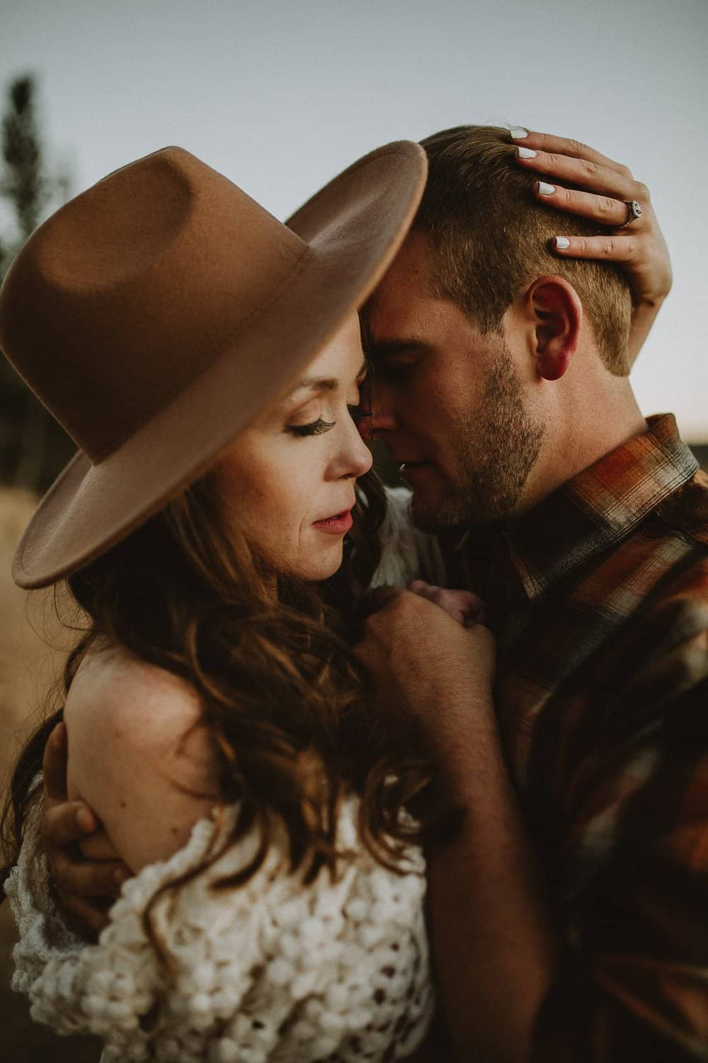 Honeyed Colorado Moments during Engagement Session in Kenosha Pass, Justyna E Butler Photography