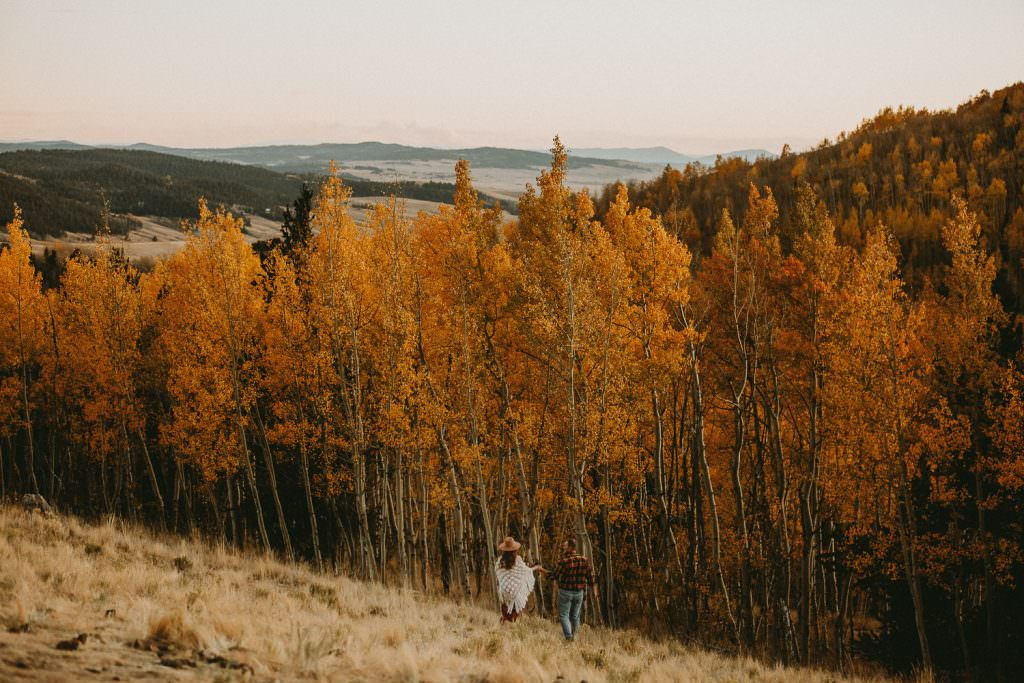 Colorado Adventure Engagement in the Fall, Justyna E Butler Photography