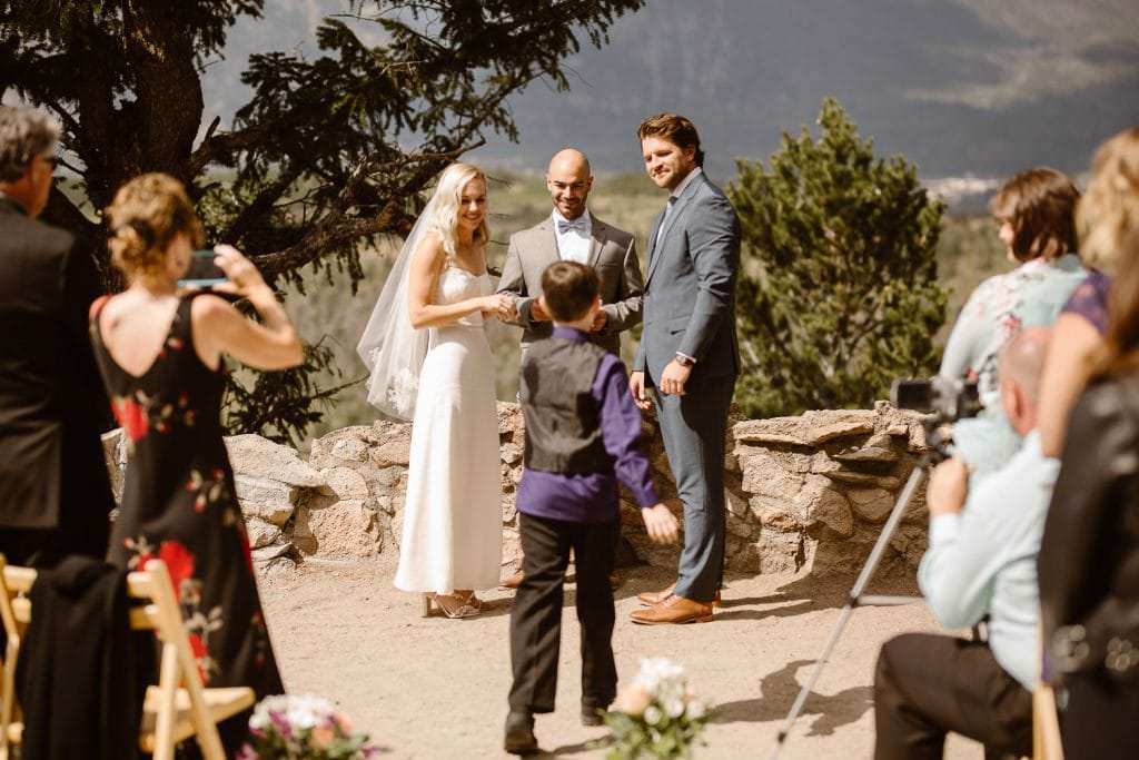 Intimate Destination Wedding at Sapphire Point Colorado