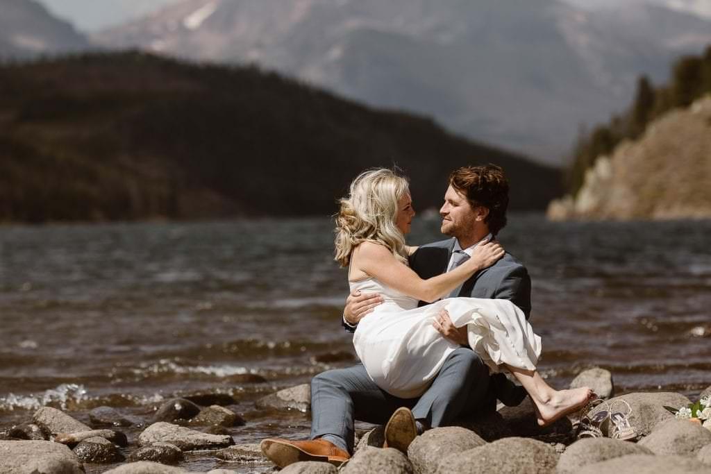 Mountain Love at 12000 feet, Colorado Elopement Photographers