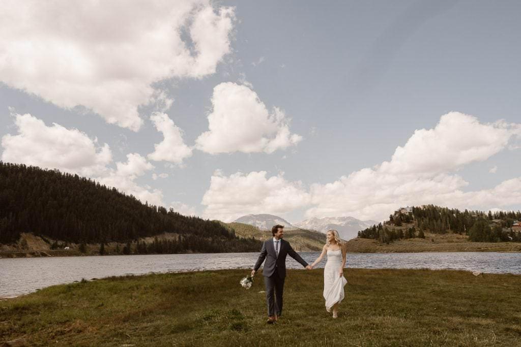 BRECKENRIDGE ADVENTURE WEDDING. COLORADO ELOPEMENT PHOTOGRAPHERS.