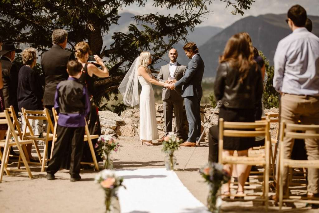 Dreamy Mountain locations for destination weddings in Colorado, Sapphire Point