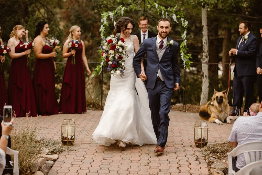Best Mountain Intimate Wedding Venues in Colorado | Evergreen Red Barn | Best Wedding Colorado Wedding Photographer | Justyna E Butler Photography