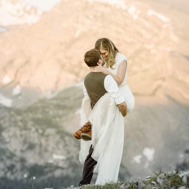 colorado elopement photographer | Justyna E Butler Photography | Colorado Mountain Weddings