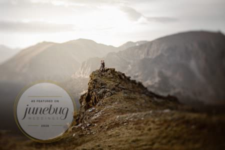 Featured on Junebug Weddings, Colorado Elopement Photographer, Justyna E Butler Photography