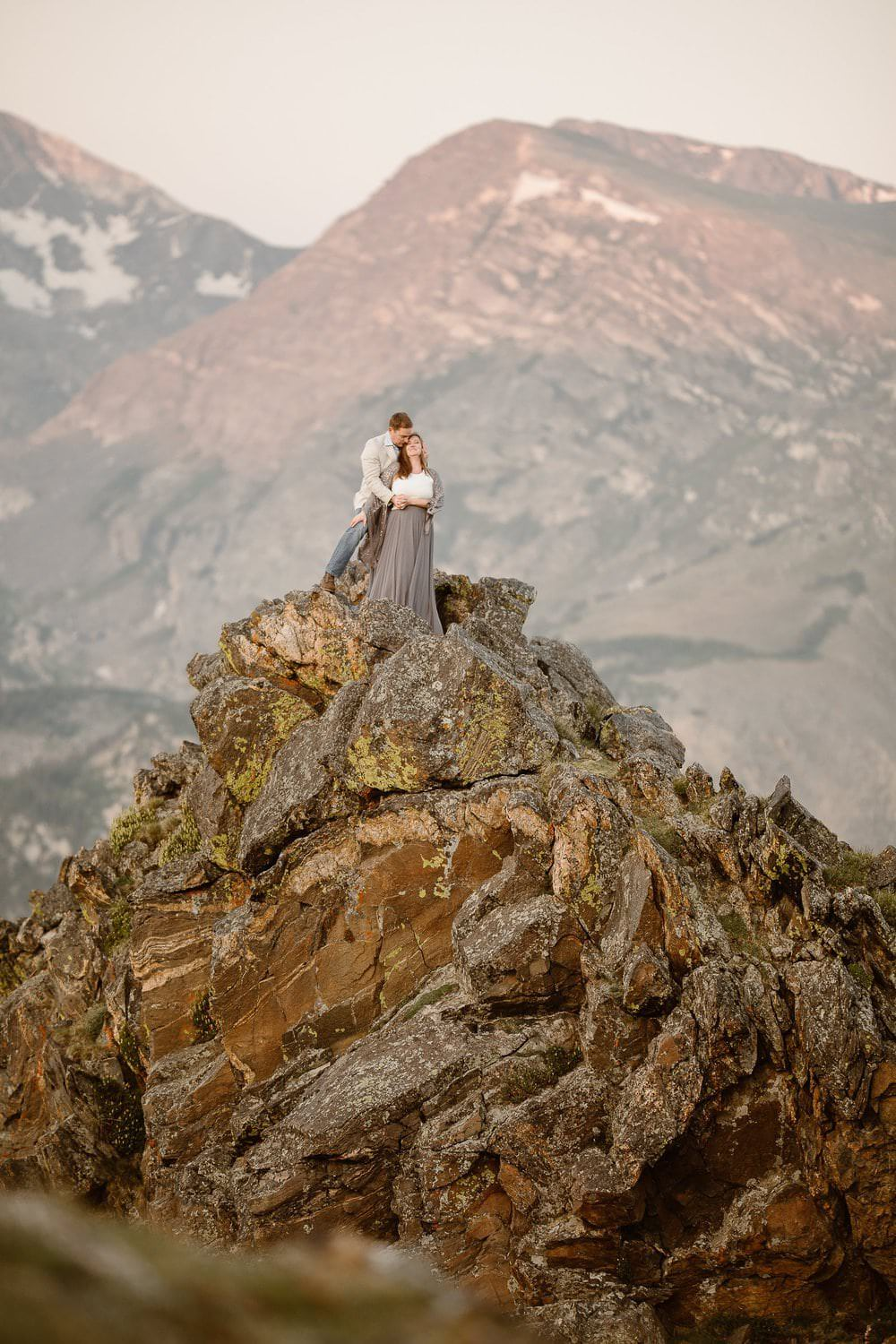 Estes Park Mountain Venue | Split Colorado Adventure Wedding Collection | Pet Friendly Colorado Wedding Venue | Colorado Wedding Photographer | Julianne + Darren Love Story