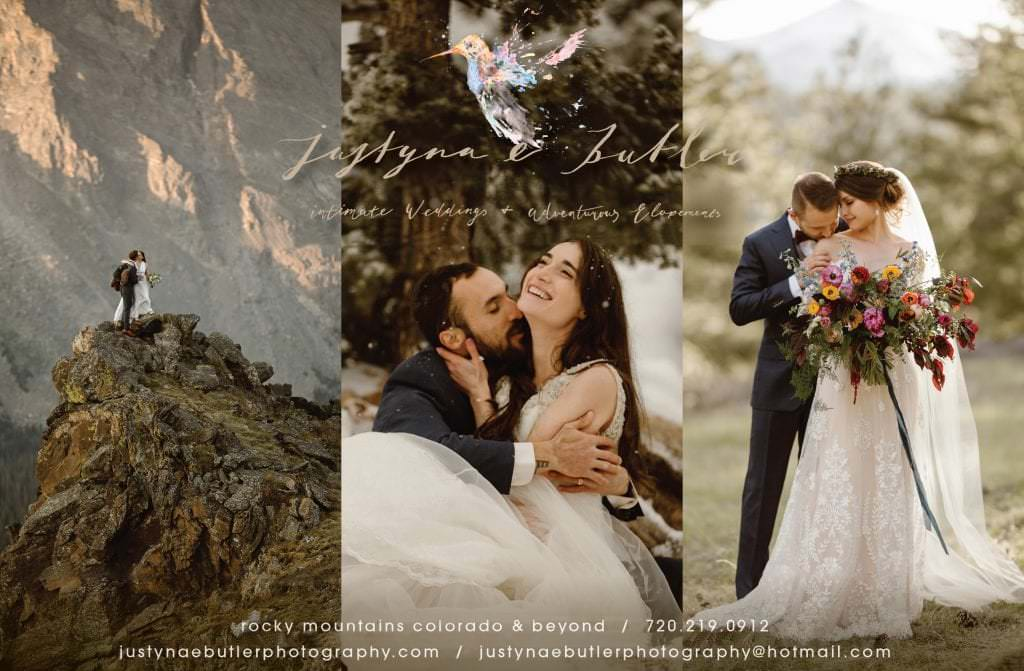 Colorado Adventure Elopement Photographer and Intimate Weddings | Rocky Mountain National Park Wedding Photographer | Justyna E Butler Photography