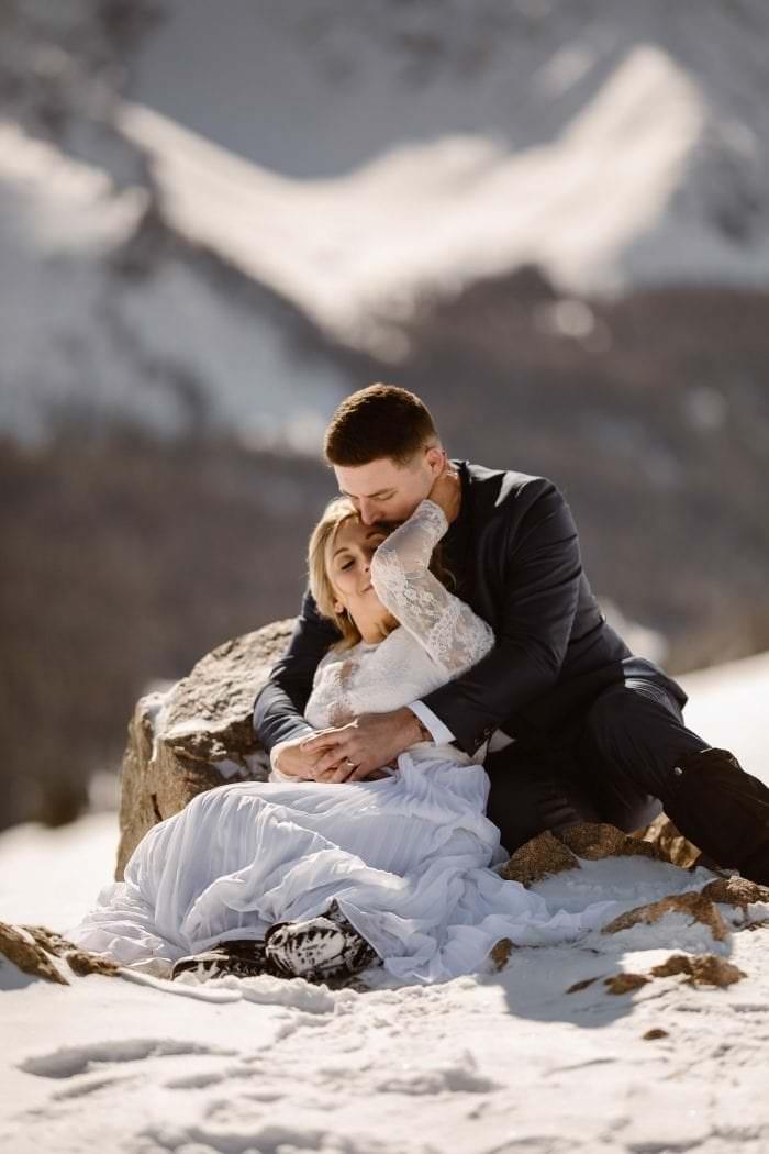 Adventurous Winter Wedding in Breckenridge