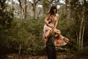 When Plan B Turns Into The Dreamiest Mossy Hawaiian Inspired Beach Adventure in Amelia Island, Justyna E Butler Photography, Hawaii Adventure Elopements